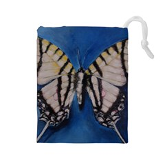 Butterfly Drawstring Pouches (Large)