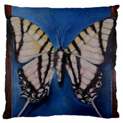 Butterfly Standard Flano Cushion Cases (One Side)