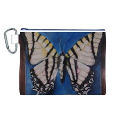 Butterfly Canvas Cosmetic Bag (L)