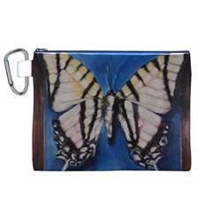 Butterfly Canvas Cosmetic Bag (xl)