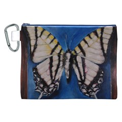 Butterfly Canvas Cosmetic Bag (xxl)