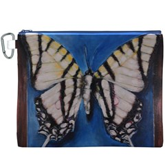 Butterfly Canvas Cosmetic Bag (XXXL)