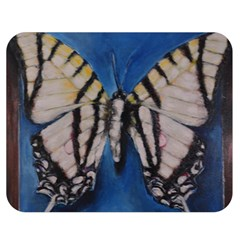 Butterfly Double Sided Flano Blanket (medium)