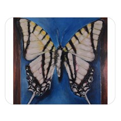 Butterfly Double Sided Flano Blanket (large)