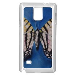 Butterfly Samsung Galaxy Note 4 Case (White)