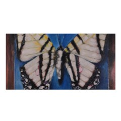 Butterfly Satin Shawl