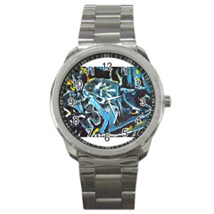 Man And Woman Sport Metal Watches