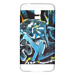 Man and Woman Samsung Galaxy S5 Back Case (White)