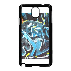Man and Woman Samsung Galaxy Note 3 Neo Hardshell Case (Black)