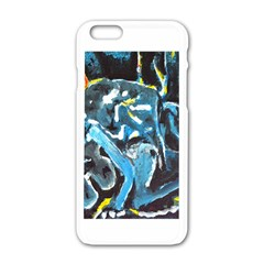 Man and Woman Apple iPhone 6 White Enamel Case