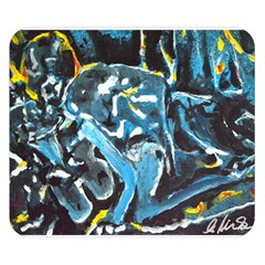 Man And Woman Double Sided Flano Blanket (small)