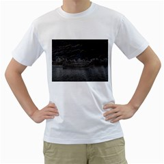 Boat Cruise Men s T Shirt (white) (two Sided)