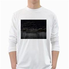 Boat Cruise White Long Sleeve T-Shirts