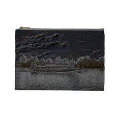 Boat Cruise Cosmetic Bag (large)
