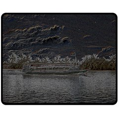 Boat Cruise Fleece Blanket (medium)