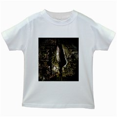 A Deeper Look Kids White T-Shirts