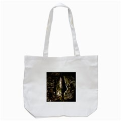 A Deeper Look Tote Bag (white)