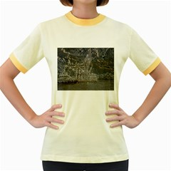 Industry V Women s Fitted Ringer T-Shirts