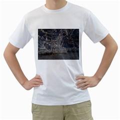 Industry V Men s T-Shirt (White) (Two Sided)