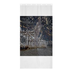 Industry V Shower Curtain 36  X 72  (stall)