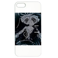 Owl Dark Apple Iphone 5 Hardshell Case With Stand
