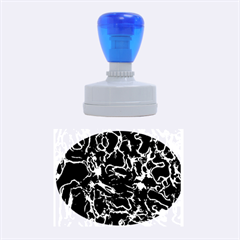 Soul Colour Rubber Oval Stamps