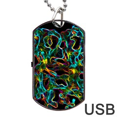 Soul Colour Dog Tag Usb Flash (two Sides)