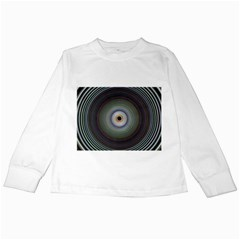 Colour Twirl Kids Long Sleeve T-Shirts