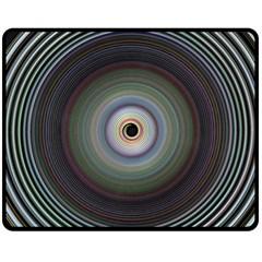 Colour Twirl Fleece Blanket (medium)