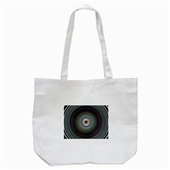 Colour Twirl Tote Bag (White)