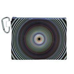 Colour Twirl Canvas Cosmetic Bag (XL)