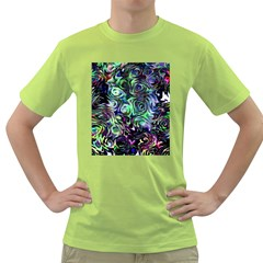 Colour Play Flowers Green T-Shirt