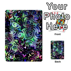 Colour Play Flowers Multi Purpose Cards (rectangle)