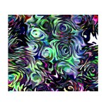 Colour Play Flowers I Love You 3D Greeting Card (7x5)  Back