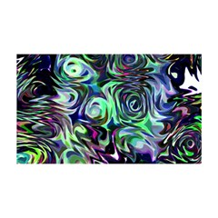 Colour Play Flowers You Are Invited 3d Greeting Card (8x4)
