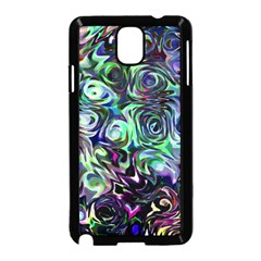 Colour Play Flowers Samsung Galaxy Note 3 Neo Hardshell Case (black)