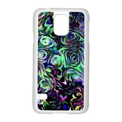 Colour Play Flowers Samsung Galaxy S5 Case (White)
