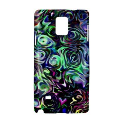 Colour Play Flowers Samsung Galaxy Note 4 Hardshell Case