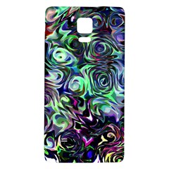 Colour Play Flowers Galaxy Note 4 Back Case