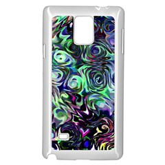 Colour Play Flowers Samsung Galaxy Note 4 Case (white)