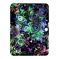 Colour Play Flowers Samsung Galaxy Tab 4 (10.1 ) Hardshell Case