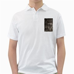 Tile Reflections Alien Skin Dark Golf Shirts