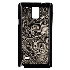 Tile Reflections Alien Skin Dark Samsung Galaxy Note 4 Case (Black)
