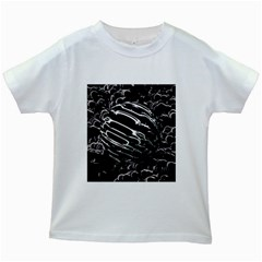 Alien Ball Kids White T-Shirts