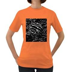 Alien Ball Women s Dark T Shirt
