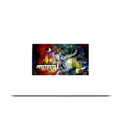 Abstract Music Painting Plate Mats