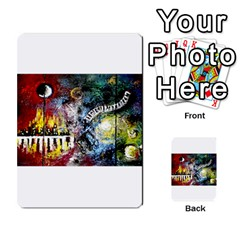 Abstract Music Painting Multi Purpose Cards (rectangle)