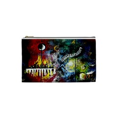Abstract Music Painting Cosmetic Bag (small)