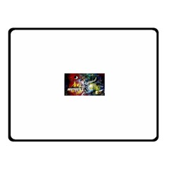 Abstract Music Painting Fleece Blanket (Small)