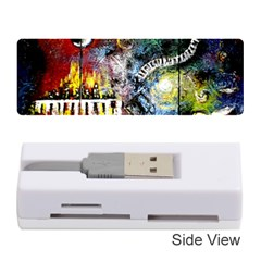 Abstract Music Painting Memory Card Reader (Stick)